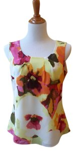 Isabella DeMarco Sleeveless Top Multi Watercolor