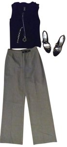 Ann Taylor Size 2 P733 Straight Pants Gray - item med img