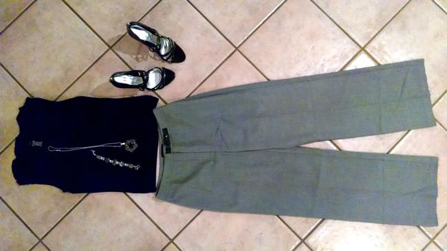 Ann Taylor Size 2 P733 Straight Pants Gray