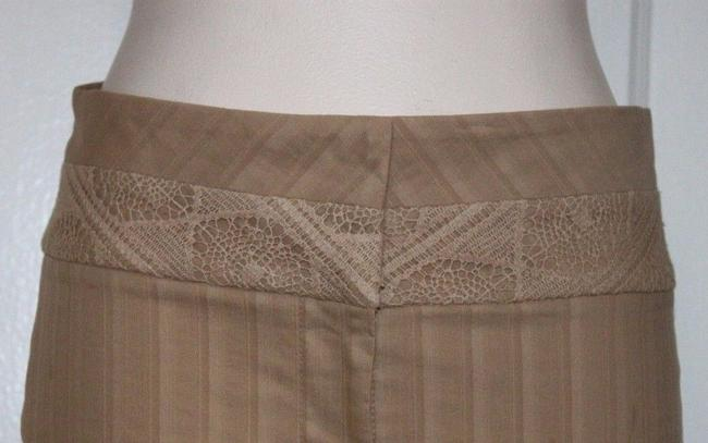 bebe Pencil Stretchy Skirt BEIGE Image 1