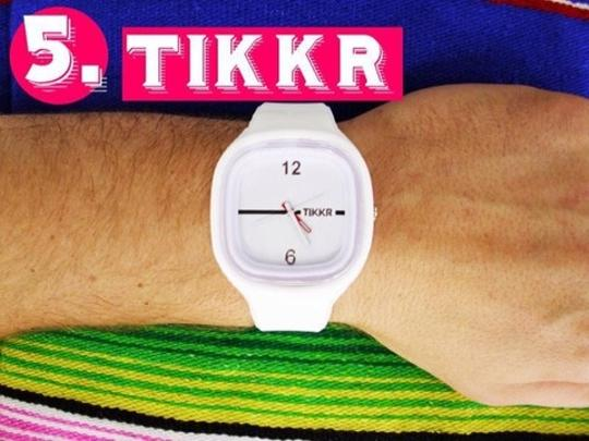 TIKKR 1 Watch w/3 Silicone Interchangeable Bands