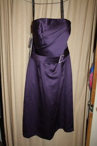 Alfred Angelo Eggplant 7129 Dress