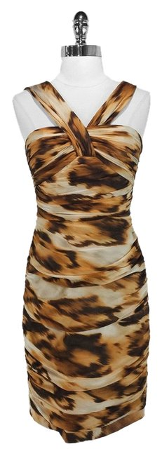 Preload https://item3.tradesy.com/images/carmen-marc-valvo-leopard-brown-and-white-sleeveless-mid-length-cocktail-dress-size-4-s-1131757-0-0.jpg?width=400&height=650