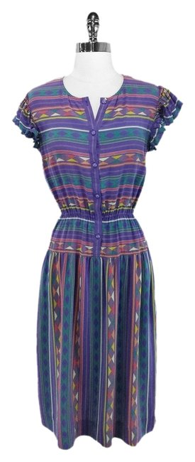 Preload https://img-static.tradesy.com/item/1131789/nipon-boutique-purple-navajo-print-midi-mid-length-short-casual-dress-size-6-s-0-0-650-650.jpg