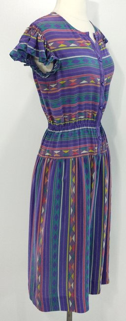 Nipon Boutique short dress Purple on Tradesy