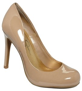Jessica Simpson Summer Fun Nude Pumps