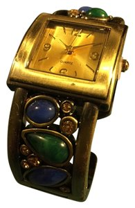 Fashion Watch Beautiful bracelet Quartz watch with a variety of stones; Never worn