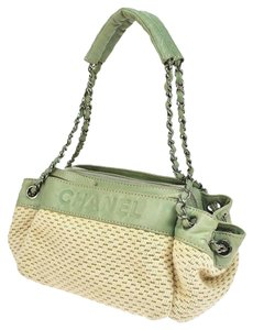 Chanel Chain Flap Summer Quilted Leather Chain Shoulder Bag