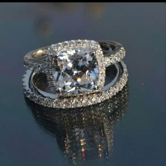 New Band 3ct Nscd Engagement Ring Image 1