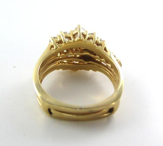 Other 14K Solid Yellow Solid Gold RING with 17 Diamonds wedding band