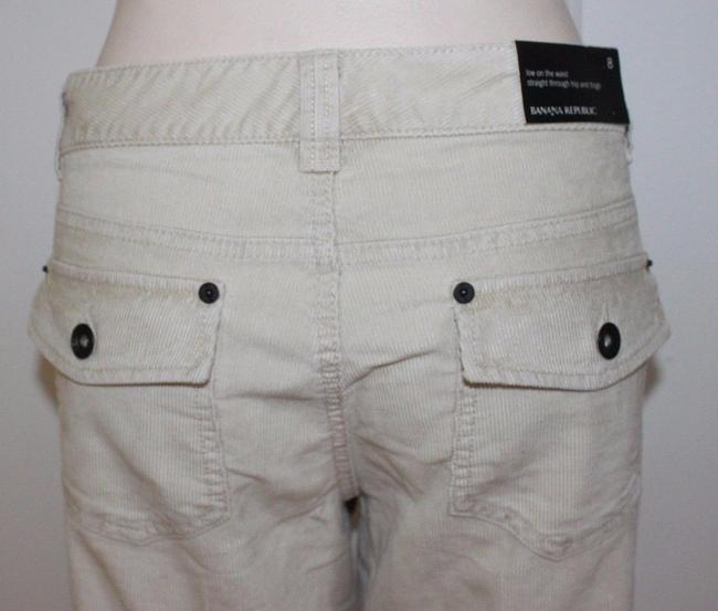 Banana Republic Corduroy Casual Straight Pants BEIGE Image 4