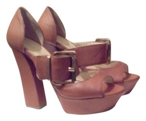 Dee Keller BEIGE OR MORE LIKE BROWN Platforms