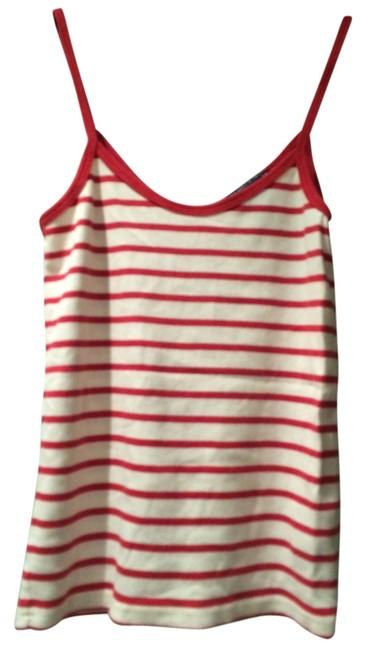 Ralph Lauren Top Red & White Stripe
