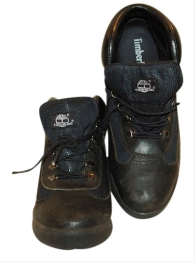 Timberland Leather Comfortable BLACK Boots