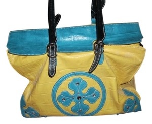 Another Tote in yellow/blue
