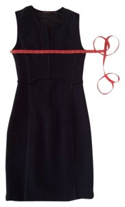 SuperTrash Little Neoprene Day To Evening Corset Zip Up Dress