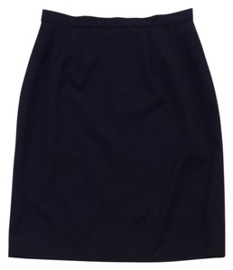 Chanel Dark Navy Skirt