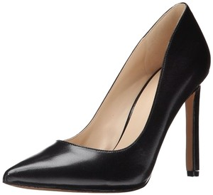 Nine West Leather Stiletto Black Pumps