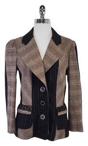 Christian Lacroix Mauve Black Tweed Jacket
