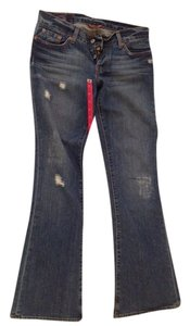 Lucky Brand Denim Boyfriend Cut Jeans-Distressed