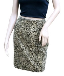 New Frontier Pencil Skirt Animal Print