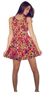Jack by BB Dakota short dress Orange on Tradesy