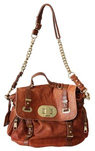 Badgley Mischka Satchel in brown