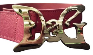Dolce&Gabbana Dolce & Gabanna hot pink leather belt