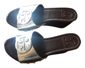 Tory Burch Sandal silver Wedges
