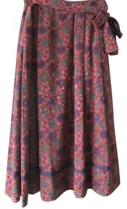 Workers Union Vintage Boho Midi Length Skirt mauve