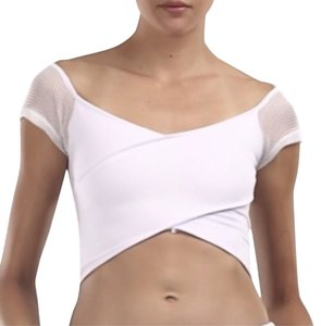 Nasty Gal Top White