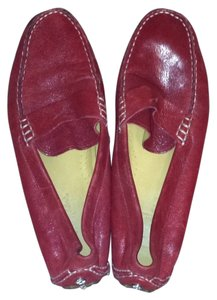 Cole Haan Red Flats