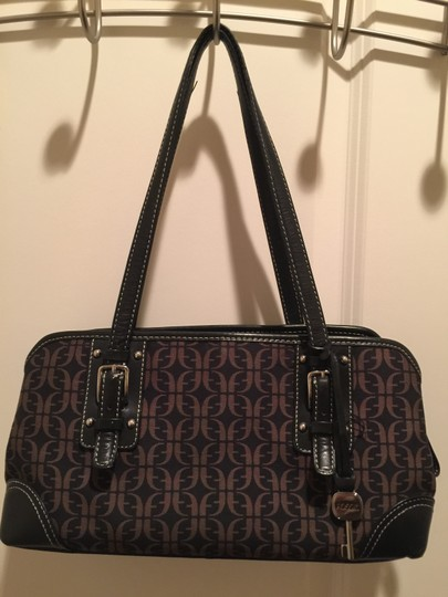 Fossil Purse Satchel in Brown and tan Image 2