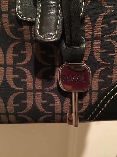 Fossil Purse Satchel in Brown and tan Image 5