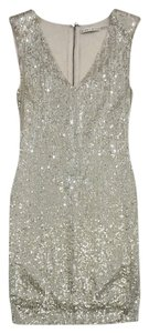 Alice + Olivia short dress Champagne Bead Sequin on Tradesy