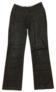 Chico's Trouser/Wide Leg Jeans-Dark Rinse