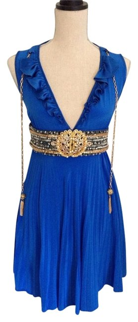 Preload https://img-static.tradesy.com/item/1132962/meghan-blue-carin-above-knee-cocktail-dress-size-2-xs-0-0-650-650.jpg