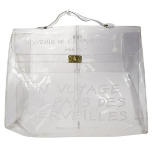 Hermès Clear Beach Bag