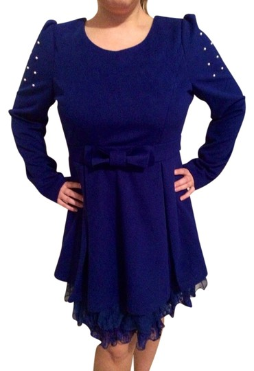 Altar'd State Royal Blue Rda3068-f12 Dress - 51% Off Retail 30%OFF