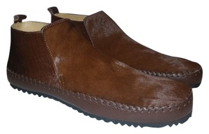 The Generic Man Ships In 24 Hours Genuine Calf Hair Amazing Condition Cognac Brown Boots