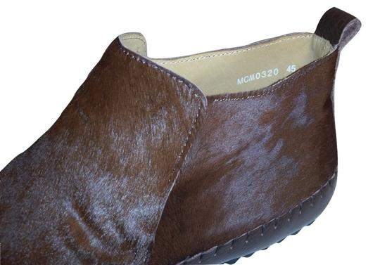 The Generic Man Ships In 24 Hours Genuine Calf Hair Amazing Condition Cognac Brown Boots Image 3