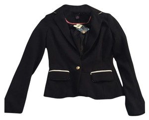 Arden B. Black and white Blazer