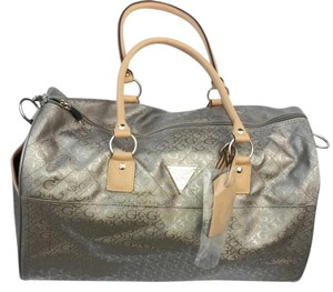 Guess Pewter/ Gray Travel Bag