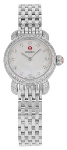 Michele Michele CSX Petite MWW03A000230 Steel & Diamonds Quartz Ladies Watch (11929)