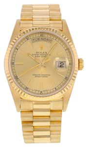 Rolex Rolex Oyster Perpetual Day-Date 18238 18K Yellow Gold Automatic Men's Watch (11924)