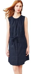 Gap short dress Blue Tie-waist on Tradesy