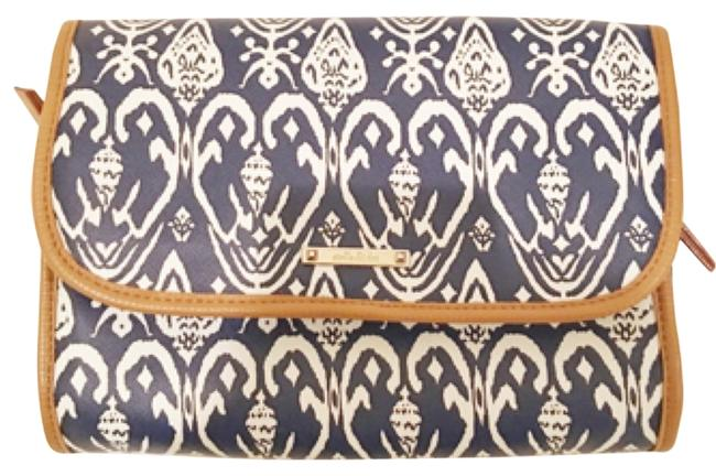Item - Navy Ikat Hang On Travel Case Cosmetic Bag
