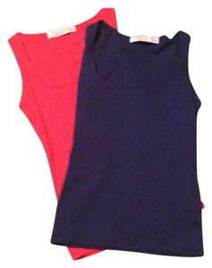 Zara Top Red, Blue