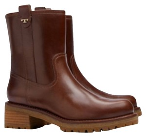Tory Burch Sturdy Brown Boots