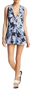 Keepsake the Label Floral Blue Romper Dress